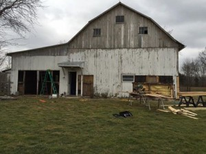 Barn siding replacement
