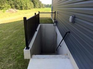 aluminum hand rail