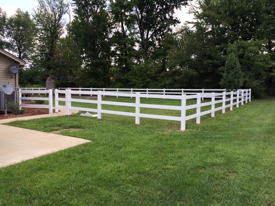 3 Rail White Vinyl Tri State Leader In Fence Sales And