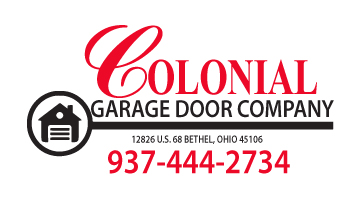 Colonial Gargage Door company logo